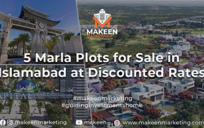 5 Marla Plots for Sale in Islamabad at Discounted Rates