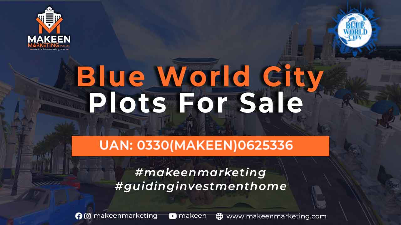 Blue World City Islamabad plots for sale in Islamabad