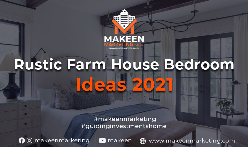 Top Rustic Farmhouse Bedroom Ideas  [2021]