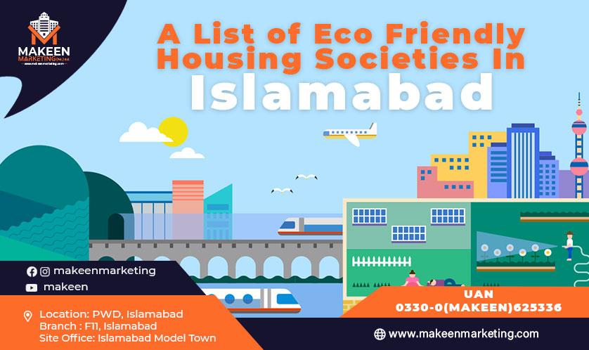eco-friendly housing societies in Islamabad