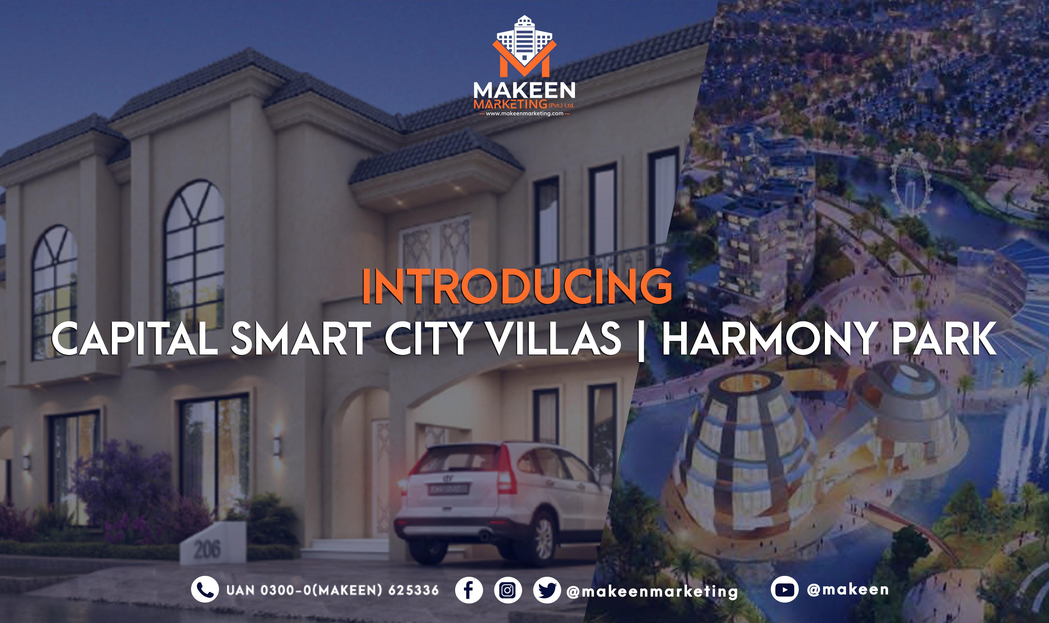 Capital Smart City villas