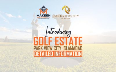 Introducing Golf Estate Park View City Islamabad | Detailed Information